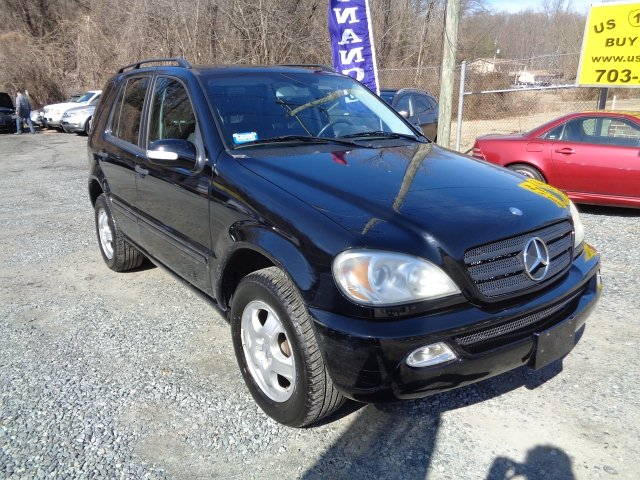 2004 Mercedes Benz M-Class ML350 5-Speed Automatic